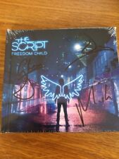 THE SCRIPT - FREEDOM CHILD - HAND SIGNED - CD HARDBACK EDITION - NEW!