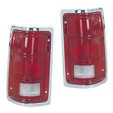 87-92 DODGE DAKOTA Rear Tail Light Lamp Pair Set