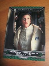 Star Wars Chrome Perspectives # 20 J Princess Leia - Carrie Fisher Topps 2015