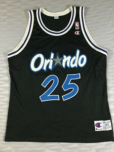 Orlando Magic Nick Anderson #25 Basketball NBA Champion Jersey Size44