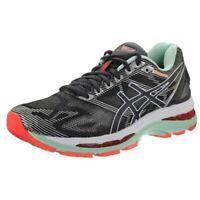 Asics Women's Gel Nimbus 19 Running Shoes Grey/White/Green T750N-9701 Size 7 (D)