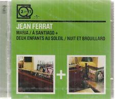 "2CD ""JEAN FERRAT-  MARIA-NUIT & BROUILLARD"" - neuf sous blister"