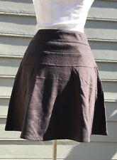 ATHLETA Ponte Skirt Sz 6 Tall ~Shale
