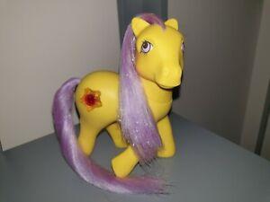 ⭐ My Little Pony ⭐ Princess Amber (Starburst) UK Variant 1 Hard to Find RARE G1