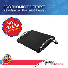 Footrest, Foot Stool Adjustable, Ergonomic Non-slip Office Desk Chair Foot Rest