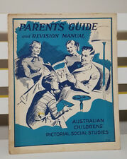 PARENTS' GUIDE AND REVISION MANUAL! CHILDRENS' PICTORIAL SOCIAL STUDIES BOOK!
