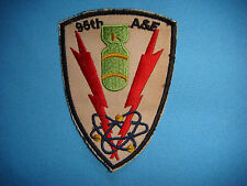 VIETNAM WAR PATCH, US 95th ARMAMENT & ELECTRONICS MAINTENANCE SQ