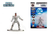 "DC Comics Nano Metalfigs CYBORG DC60 2"" Die-Cast Metal Figure Wave 4"