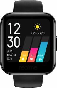 """REALME Sports Smart Watch Heart Rate Waterproof 1.4"""" Blood-Oxygen Monitor Black"""