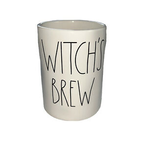 Rae Dunn by Magenta Witch's Brew Richly Scented Candle Caramel Apple Halloween