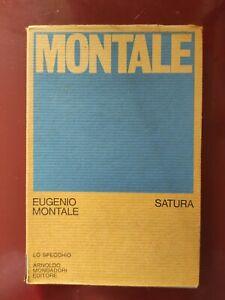 MONTALE: SATURA 1962-1970 (LO SPECCHIO)