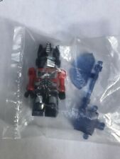 Kre-o Kreon  Axe Optimus Prime  - Transformers  Ultra Rare! HTF! G1 Color! Kreo