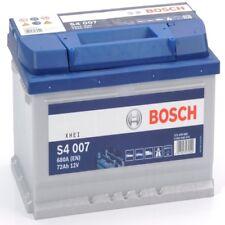 4 year warranty bosch 100 572409068 S4007 72Ah 680 CCA varta equiv Battery
