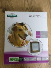 Petsafe Staywell Pet Door/Flap For Medium Dog .Brown New
