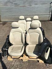 Genuine MINI Complete Heated Cream Full Leather Interior Seats - R60 Countryman