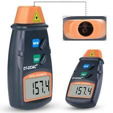 Handheld L Aser Non Contact Tach Digital Photo Tachometer 25rpm 99999rpm