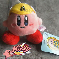 Pink Kirby Flying Hat Adventure Stuffed Plush Doll Soft Toy Collectible Keychain