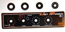 ROLAND Jet Phaser AP-7 Aluminum Brand Logo Badge Set NEW, Guitar Effect pedal