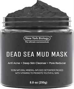 Dead Sea Mud Mask Pore Reducer Skin Tightening Firmer For Men and Women Vu Face