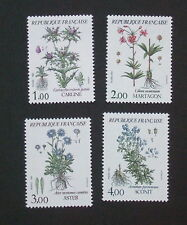 French Flowers Stamps