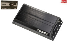 Kicker 42PXA2002  Compact 2-channel amplifier — 100 watts RMS x 2 at 1 ohm