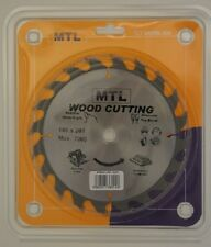 180mm dia. x 20T x 16mm bore MTL brand TCT Circular Saw Blade for Wood cutting
