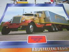 Super Trucks Hauben Zugmaschinen USA International  RDF 405, 1953