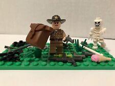 Lego Walking Dead Rick Grimes Custom Minifigure Lot