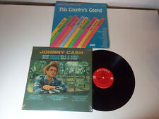 NICE! Lot 3 LP's JOHNNY CASH Now There Was A Song! THIS COUNTRY'S GOSPEL Sealed