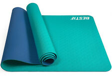 Yogamatte Fitnessmatte TPE Sportmatte Gymnastikmatte Bodenmatte Pilates Yoga Mat