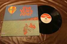Ten Years After Watt with Rare Poster Deram Records Psych LP