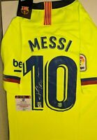 Autographed / Signed Soccer Nike XL Jersey - Lionel Messi - Barcelona w/COA