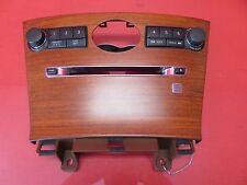2006-2010 INFINITI M35 OEM CLOCK RADIO CD CHANGER CONTROL RADIO WOOD GRAIN