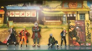 Bandai S.H.Figuarts Naruto Jiraiya Kakashi Minato Boruto figure lot of 6