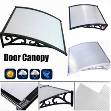 120CM Door Window Canopy Awning Porch Sun Front Shelter Outdoor Patio Rain Cover