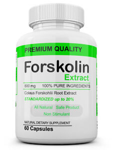 FORSKOLIN Weight Loss 100%PURE Coleus Forskohlii EXTRACT 800mg Standardized 20%