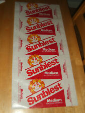 More details for vintage retro  genuine sunblest bread wax wrapping paper 30