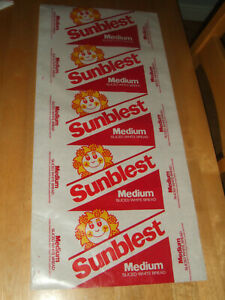 """Vintage Retro  Genuine Sunblest Bread Wax Wrapping Paper 30"""" x 13.5"""" Approx"""