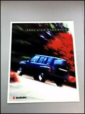 1995 Suzuki Sidekick 4-door Original Car Sales Brochure Catalog