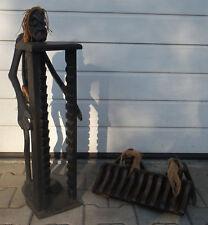 Grosse - Figur - Skulptur - CD - Ständer - Afrikanisch - Dekoration - 2 Stück