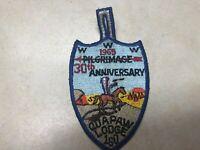 OA Lodge 160 Quapaw 1969 Pilgrimage