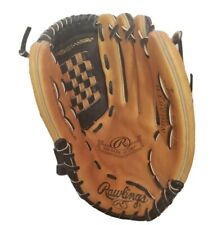 "Rawlings Leather Baseball Glove RBG36TB 12 1/2 "" Fastback Model Adjust A-Strap"