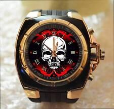 Calavera Commando estilo ejército Grueso Regalo Reloj De Pulsera Exclusivo Hot