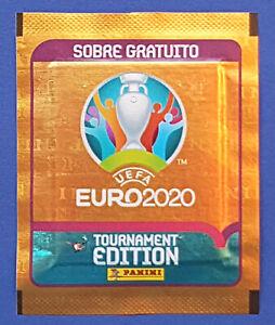 Panini UEFA EURO 2020 Tournament Edition Orange ES Gratis / Promo Tüte / Packet
