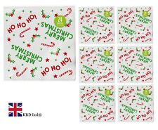 CHRISTMAS TABLE NAPKINS Paper Serviettes Party Tableware Luxury Xmas New Year UK