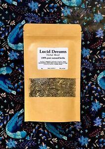 30g Lucid Dreaming Dried Herbs Calea Zacatechichi Hops Mugwort Ginkgo Tea Smoke