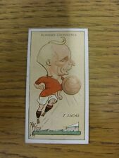 1927 MAC: No.22, Liverpool  - T Lucas [Football Caricature Card Issued By John P
