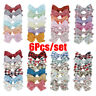 Barrette Baby Girl Bow Hair Clips Children Hair Accessories Bowknot Hairpins