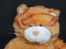 BIG TIGER STRIPES KITTY CAT ORANGE FLOPPY LEGS BUILD A BEAR PLUSH STUFFED