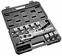 Mastercool 71300 Hydraulic Push Connect Double Flaring Tool Set